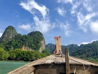 long-tail boat thailand solo travel under30experiences trips to asia