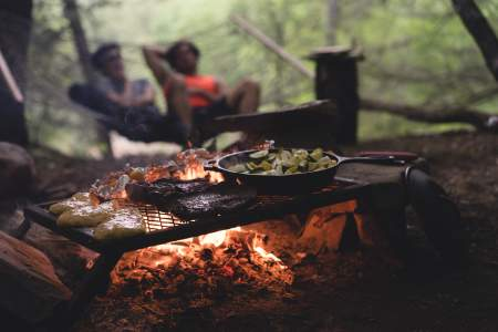 Camping meals, camping menu ideas