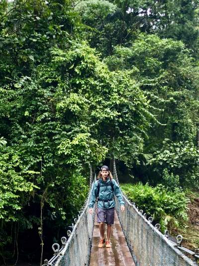 costa rica solo travel guide hanging bridge under30experiences