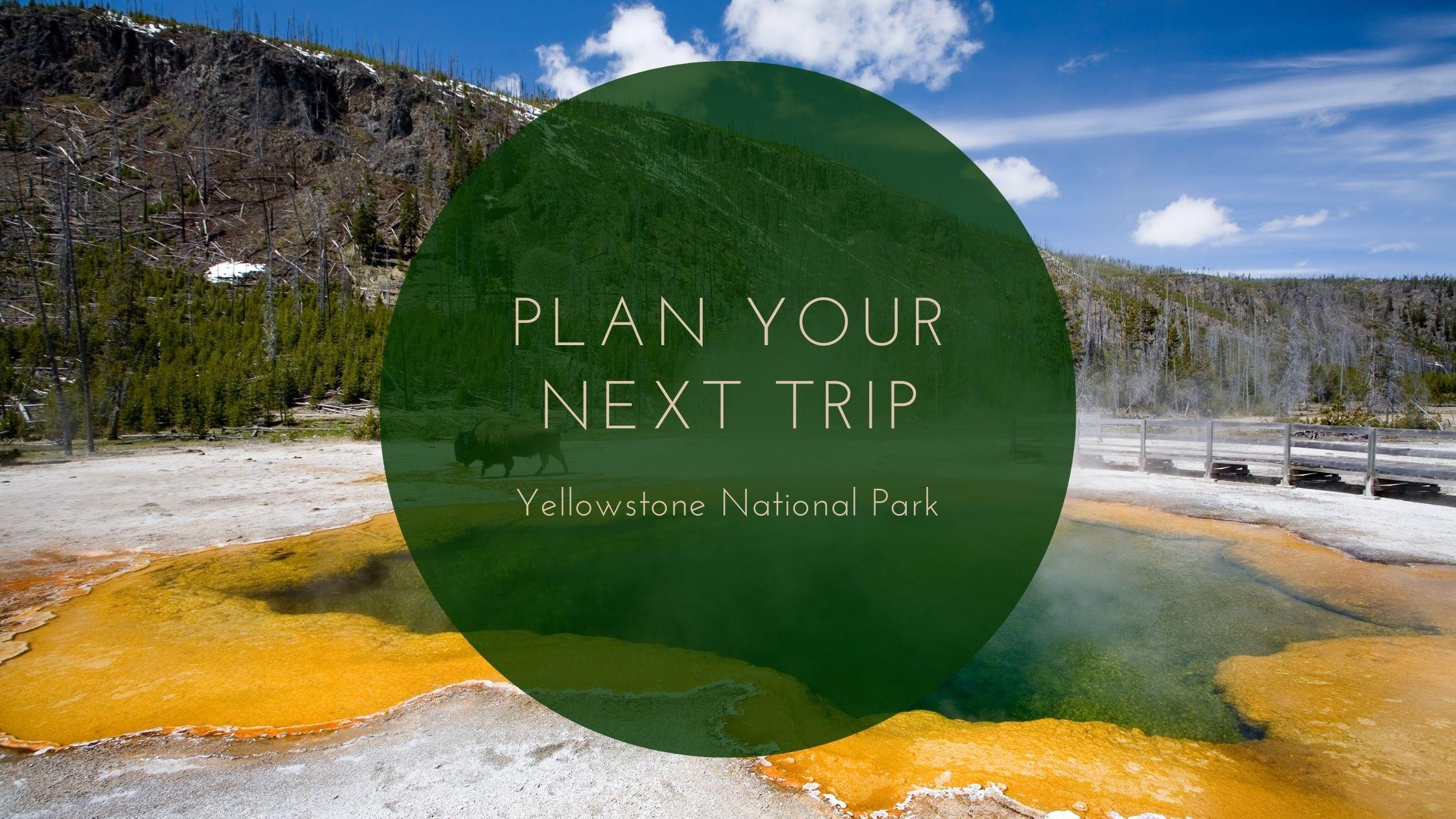 Plan Your Next Trip: Yellowstone National Park