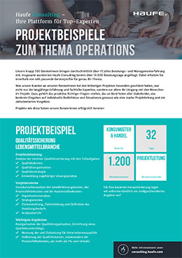 Projektbeispiele Operations