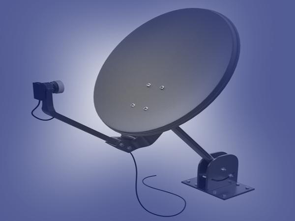 Alignment of satellite dish