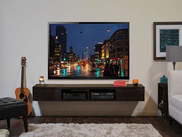 Sky TV in living room