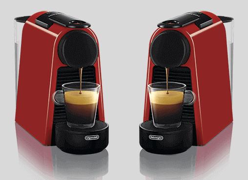 Предоставляем подменную кофемашину в случае ремонта Nespresso Essenza Mini