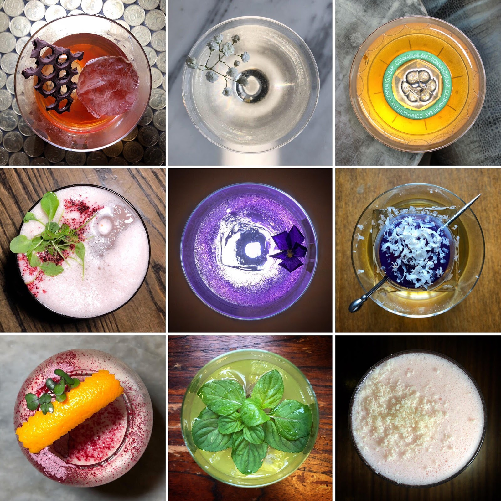 On Instagram, LeCocktailConnoisseur has developed its own creative line