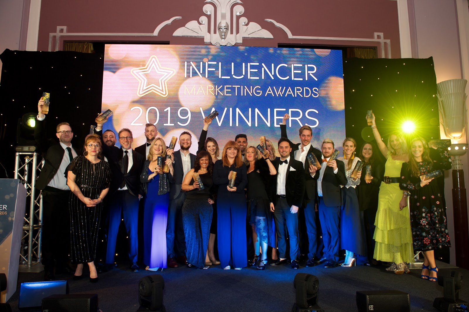 Traackr and Gold Winners at Influencer Marketing Awards 2019