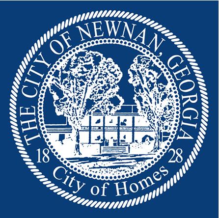 The city seal for Newnan, Georgia.
