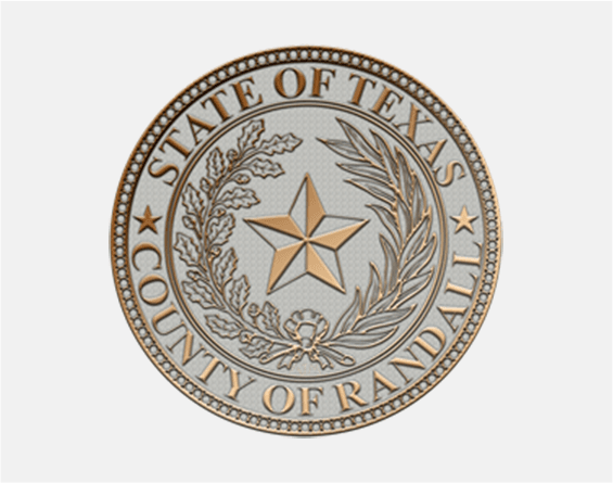 The seal of Randall County, TX.