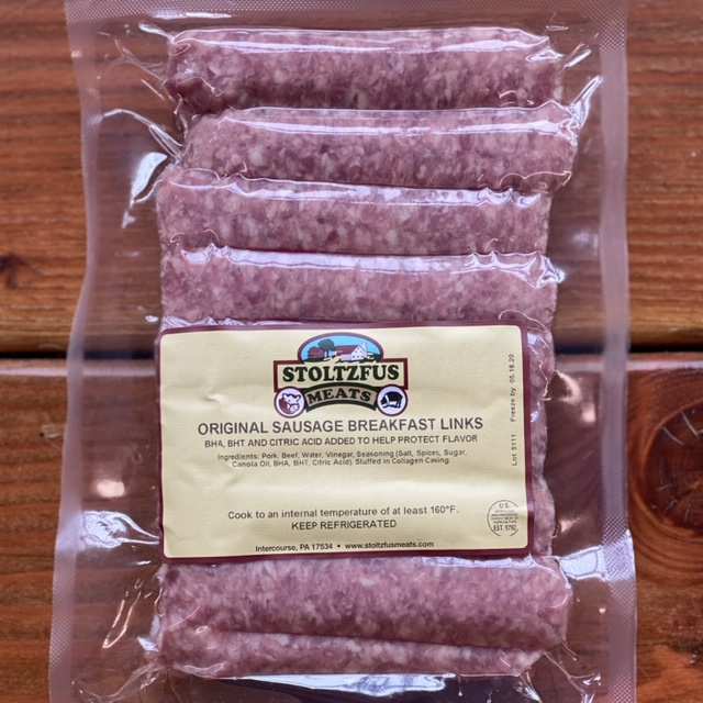 Breakfast Sausage Link 1lb Pack (Frozen)