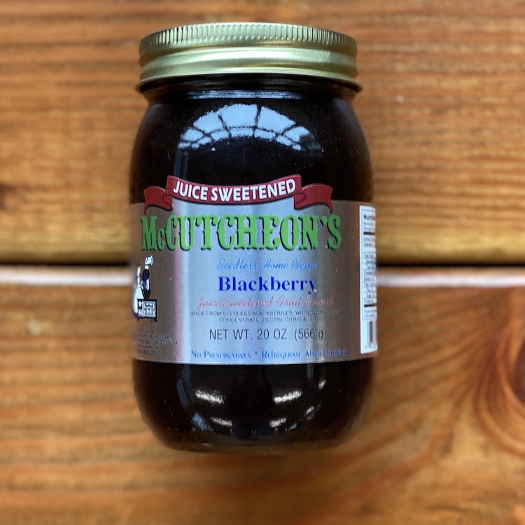 Blackberry Spread (Juice Sweetened)