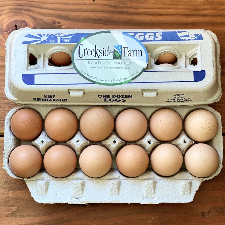 Creekside Farm Fresh Eggs (1 Dz.)