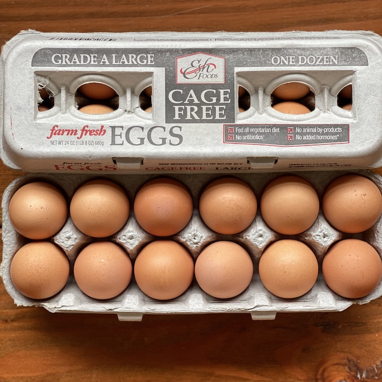 Farm Fresh Eggs (1 Dz.)