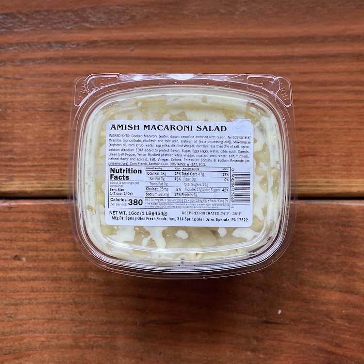 Fresh Deli Salads (16oz)