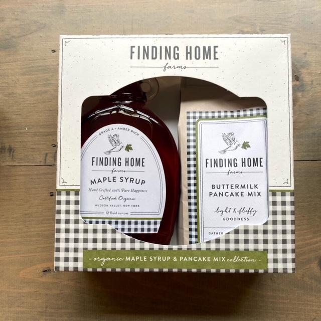 Pancake Mix and Syrup Gift Box
