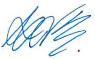 Avi's e-signature