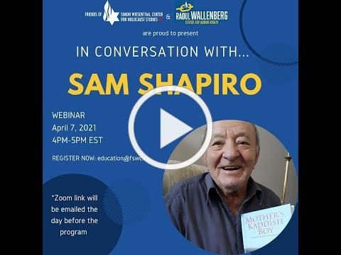 In Conversation with Sam Shapiro