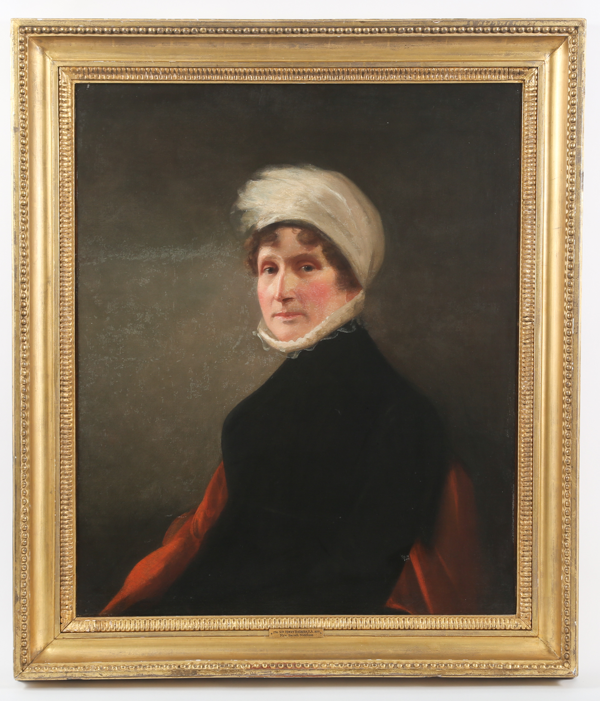 Sir Henry Raeburn British 1756-1823 Mrs. Sarah Siddons Oil on Canvas Painting