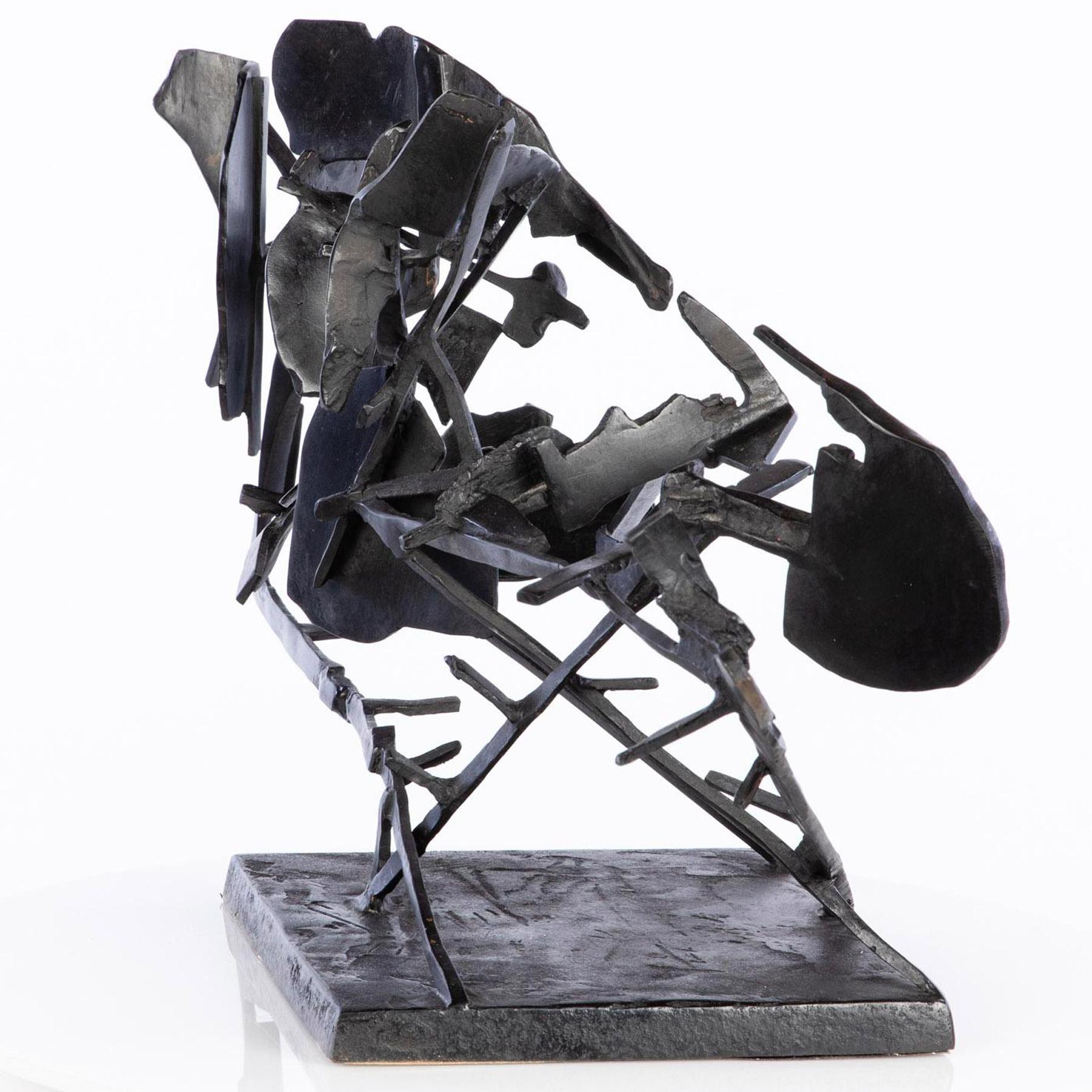 William Kentridge, Sculpture for Return (Commendatore Naso), Bronze, 2008