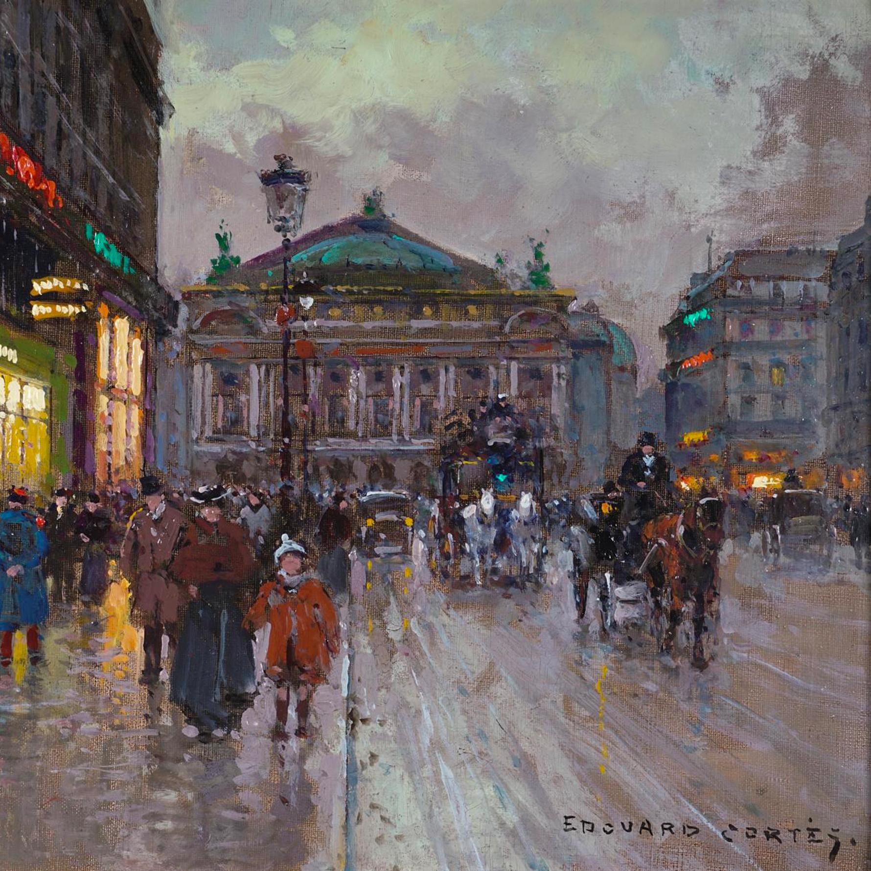 Artist Profile: Edouard Cortes and Raymond Thibesart