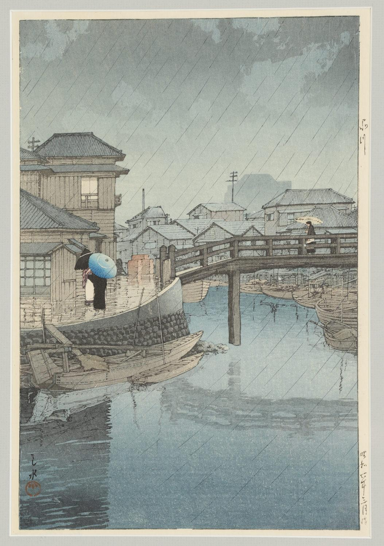 Kawase Hasui: A Master of Rain
