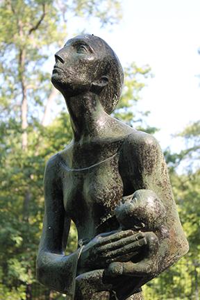 Mother & Child (Refugees) by Charles Umlauf