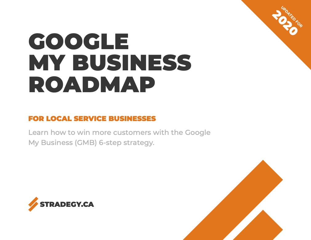 Google My Business (GMB) Roadmap