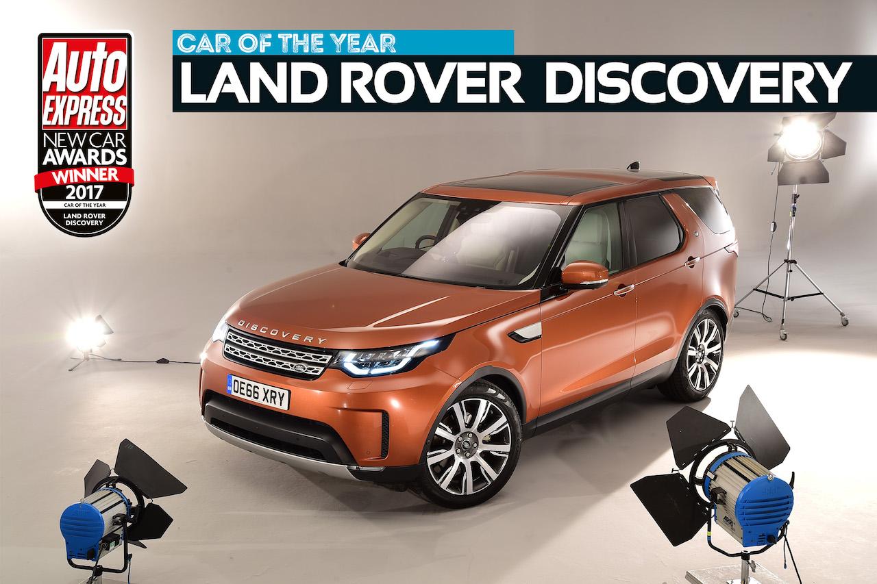 Land Rover Discovery er Bíll ársins 2017 að mati Auto Express