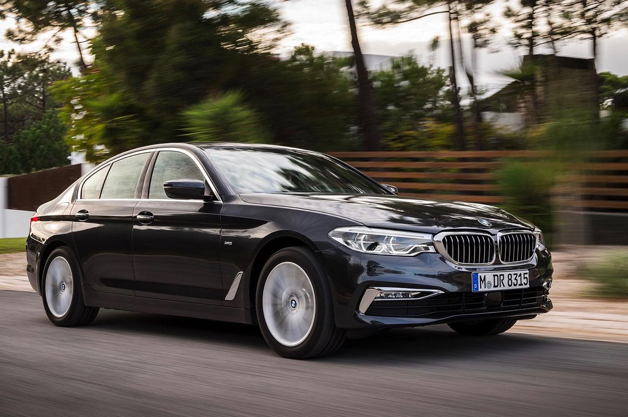 BMW 5 Series Sedan kynntur hjá BL