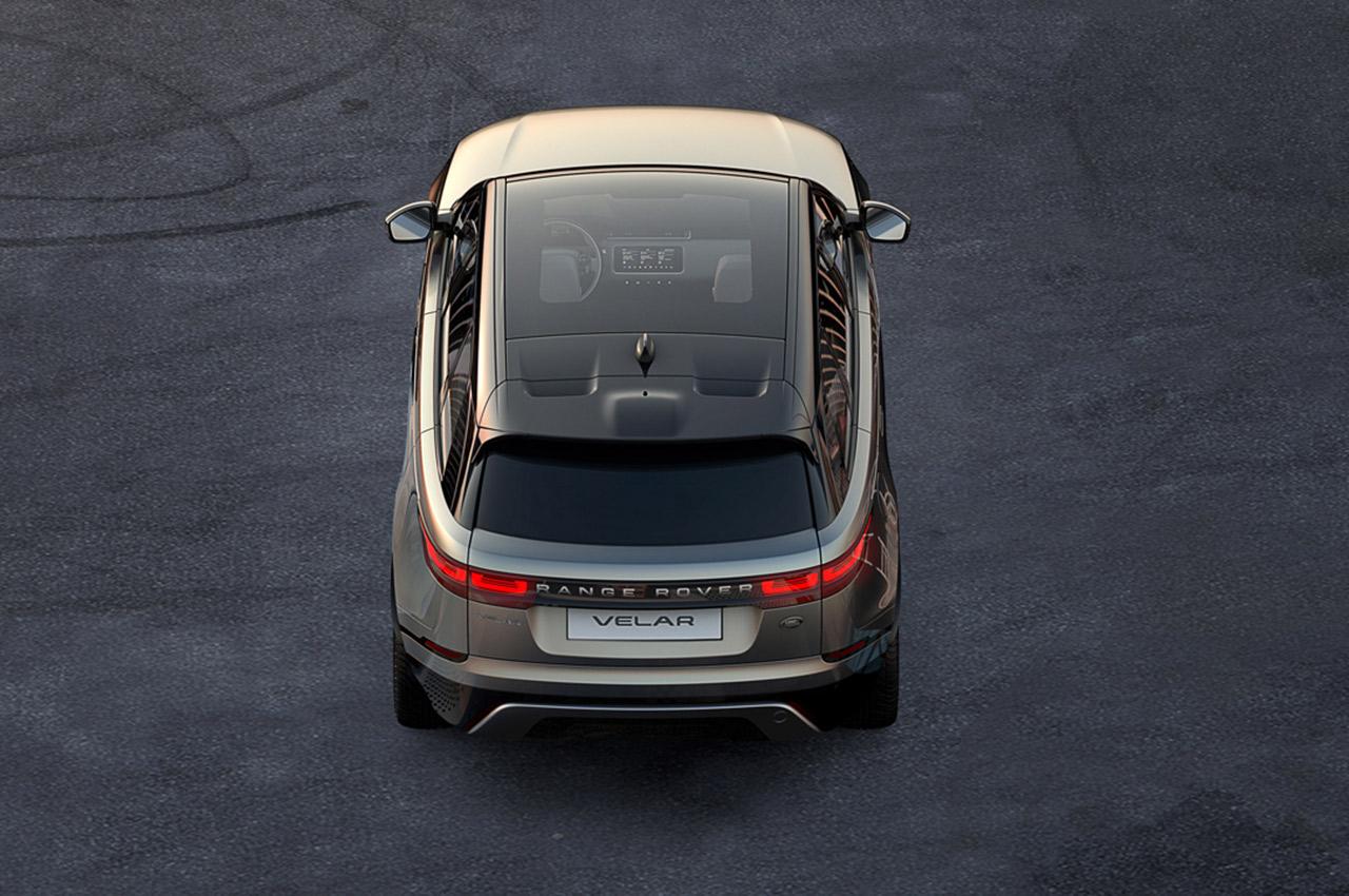 Land Rover kynnir Velar frá Range Rover