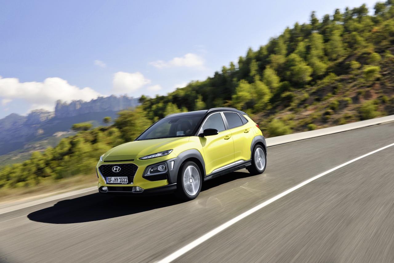 Hyundai Kona kjörinn besti bíll ársins á Spáni