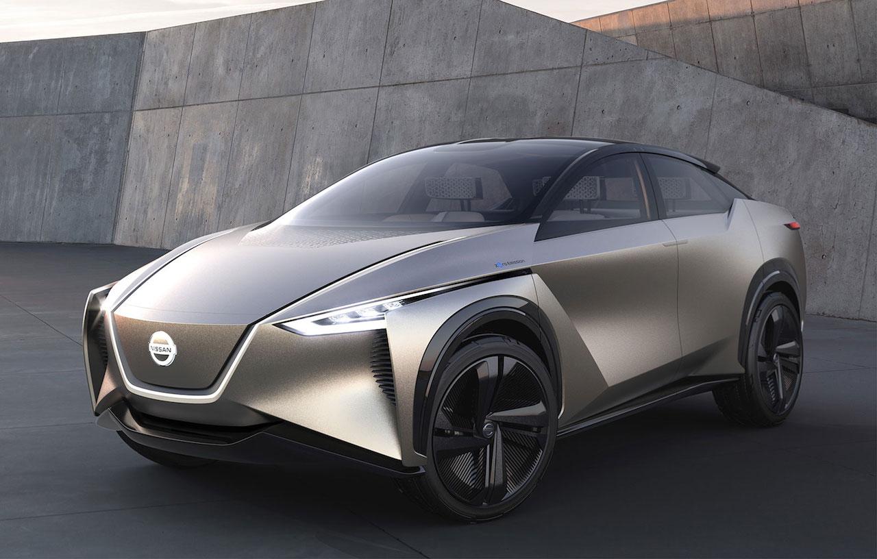 Nissan IMx KURO les heilabylgjur ökumannsins