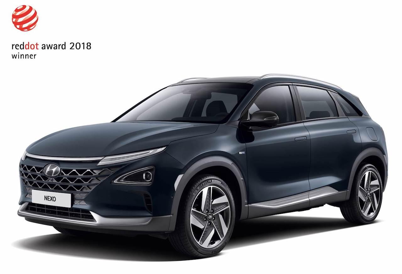 Hyundai fær fleiri hönnunarverðlaun Red Dot Design