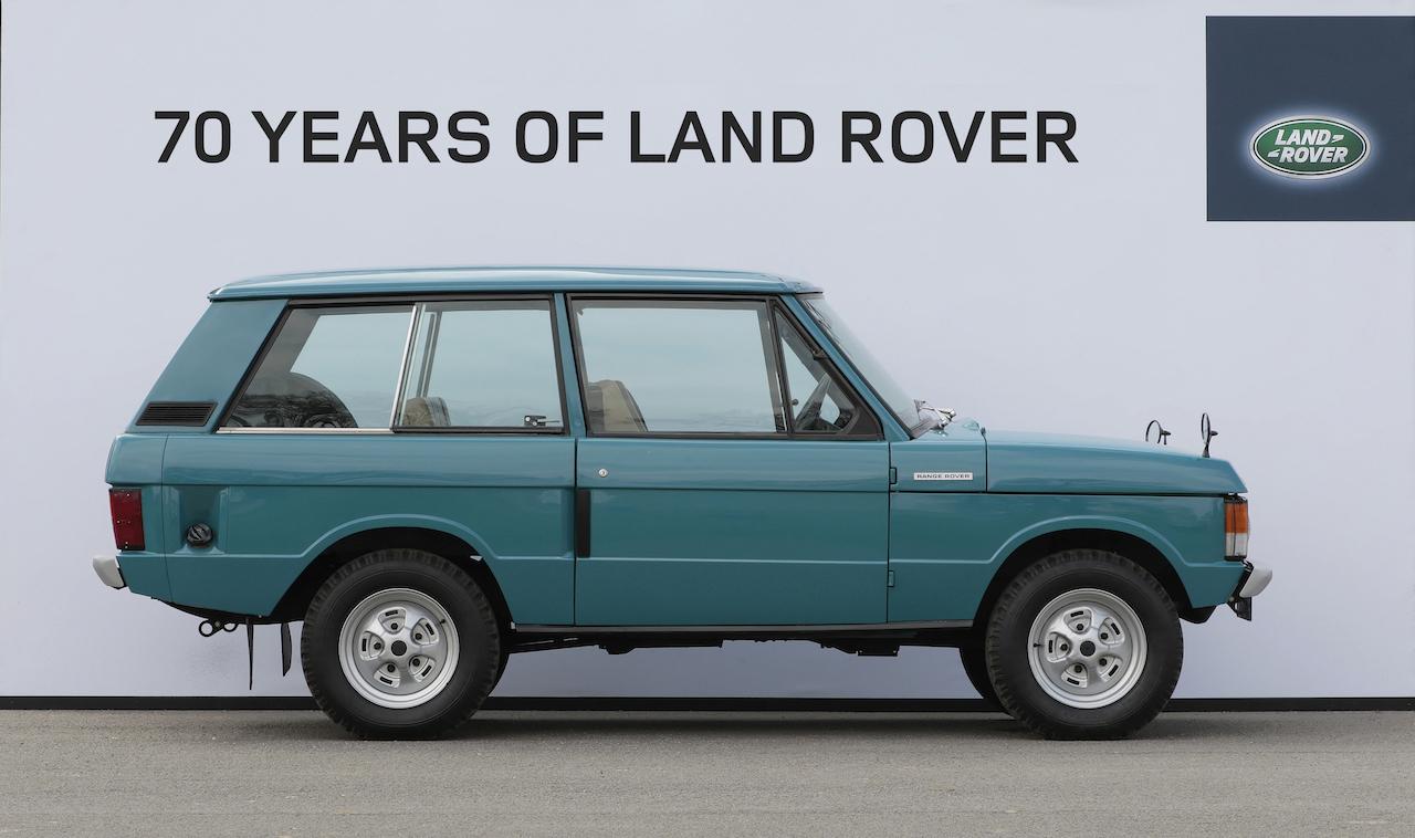 Land Rover í 70 ár