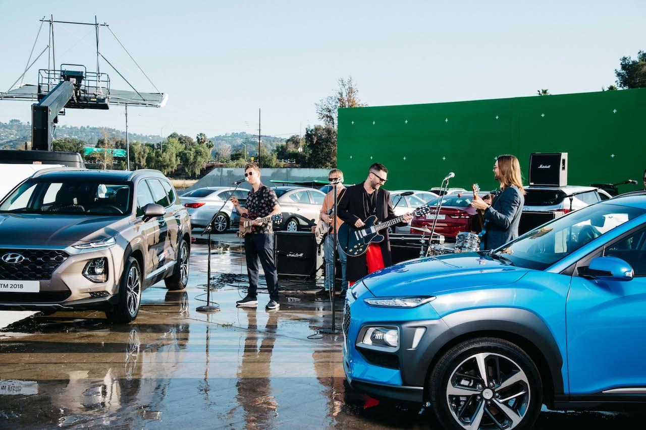 Hyundai hitar upp fyrir HM með Maroon 5 í anda Bob Marley