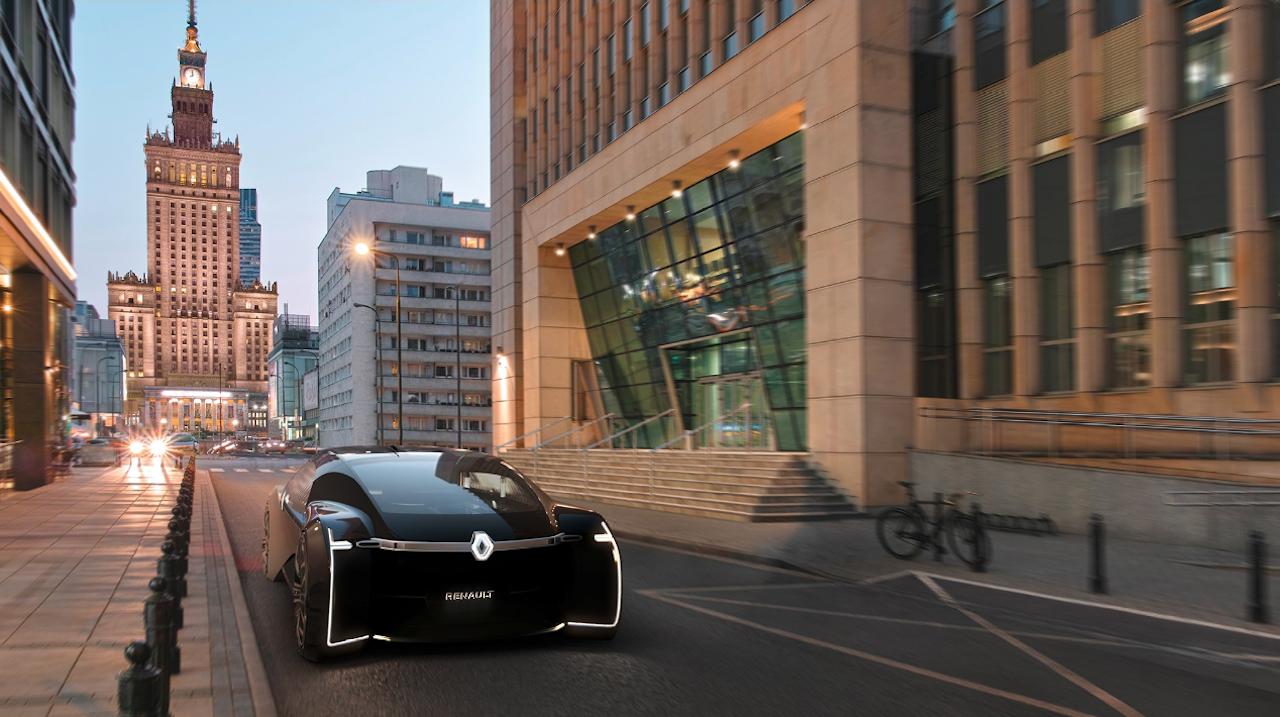 Einstakur lúxus í Renault EZ-ULTIMO concept í París