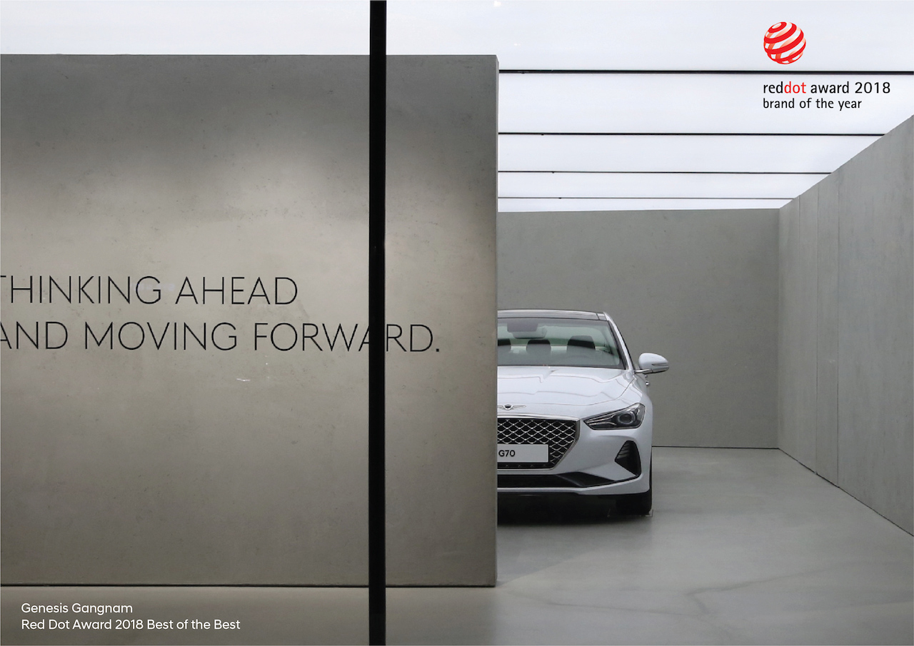 Hyundai merki ársins að mati Red Dot Design Award