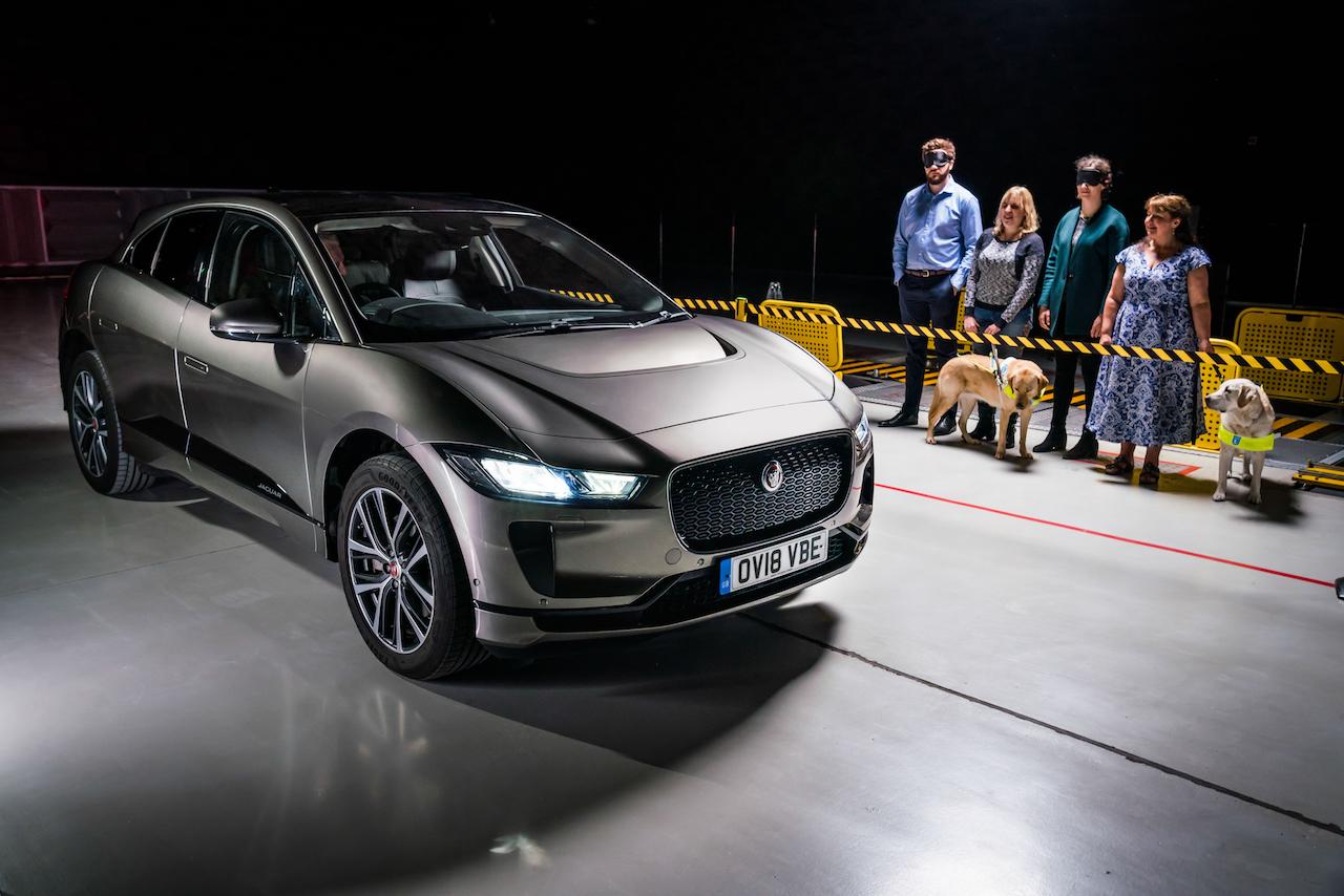 Jaguar þróaði hljóðið í rafbílnum I-Pace með blindum og sjónskertum