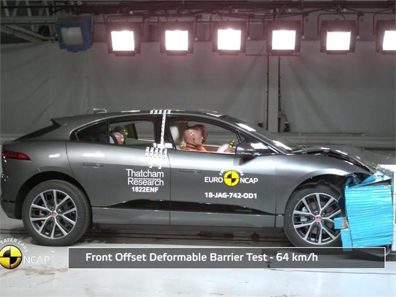 Jaguar I-PACE með 5 stjörnur Euro NCAP
