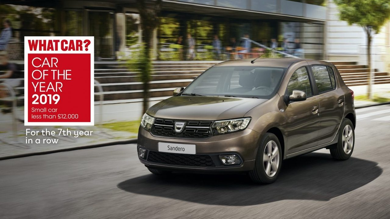 Dacia Duster og Sandero á toppnum hjá What Car?
