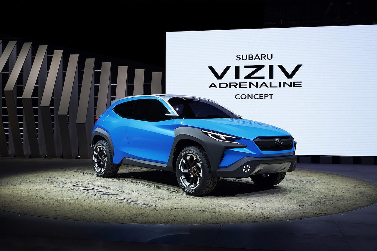 Viziv Adrenaline er spennandi hugmynd á þróunarstigi hjá Subaru