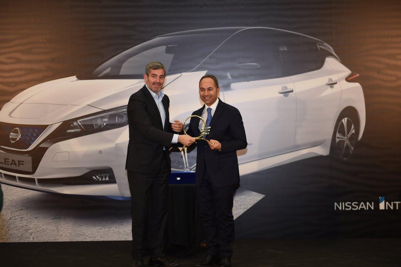 Nissan LEAF Bíll ársins 2019 á Kanaríeyjum