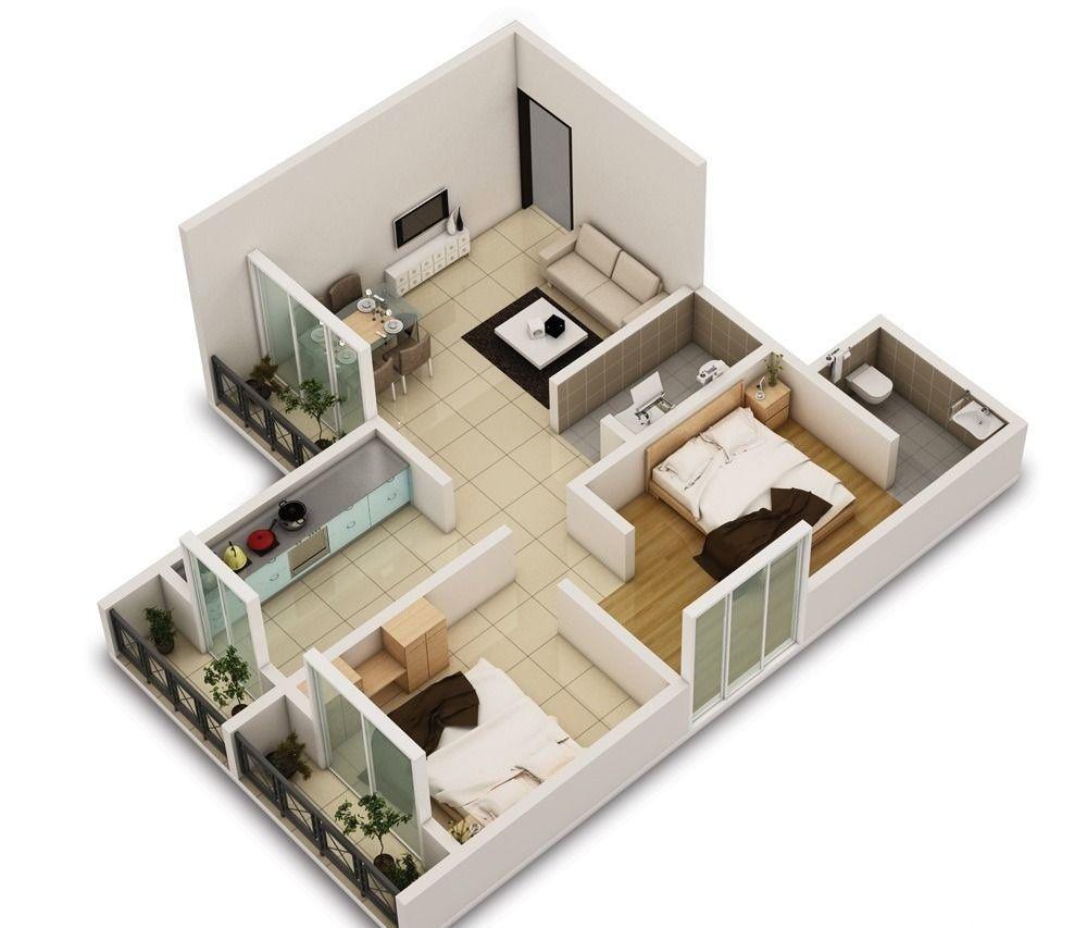 Выгода покупки двухкомнатной квартиры от застройщика