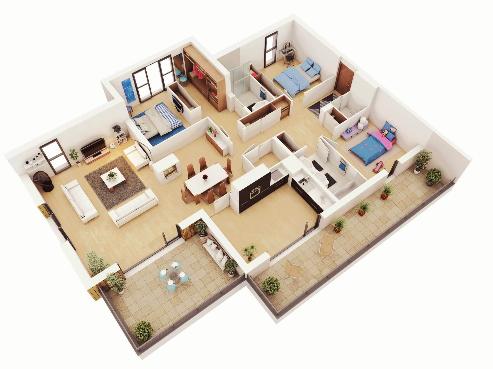 Как купить четырехкомнатную квартиру в Краснодаре?