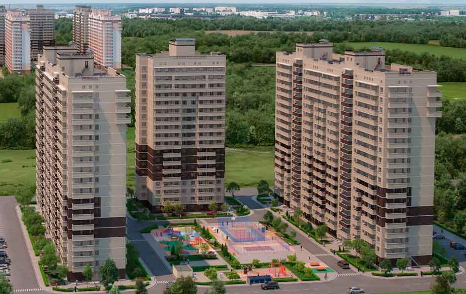Покупка квартиры в районе Гидростроителей от компании ССК