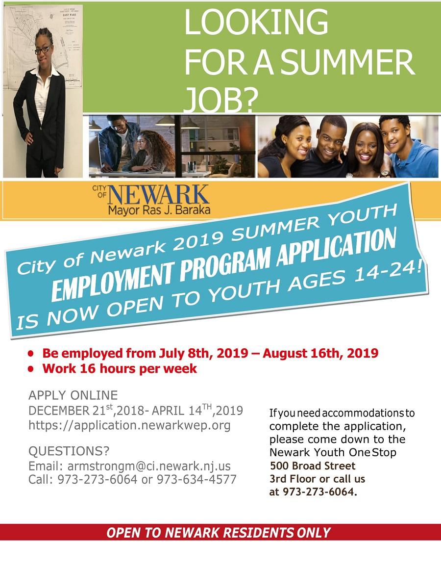 syep 2019 application deadline nyc