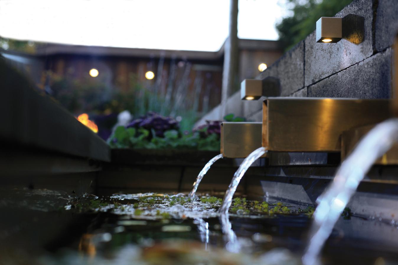 In-Lite tuinverlichting brengt warmte in uw tuin