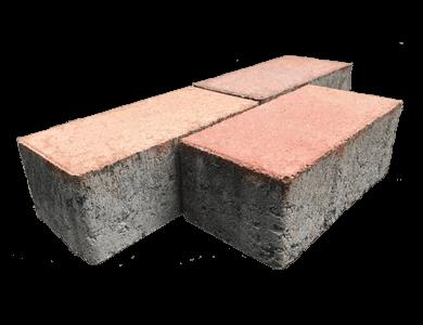 Betonnen straatstenen met facetrand/vellingskant
