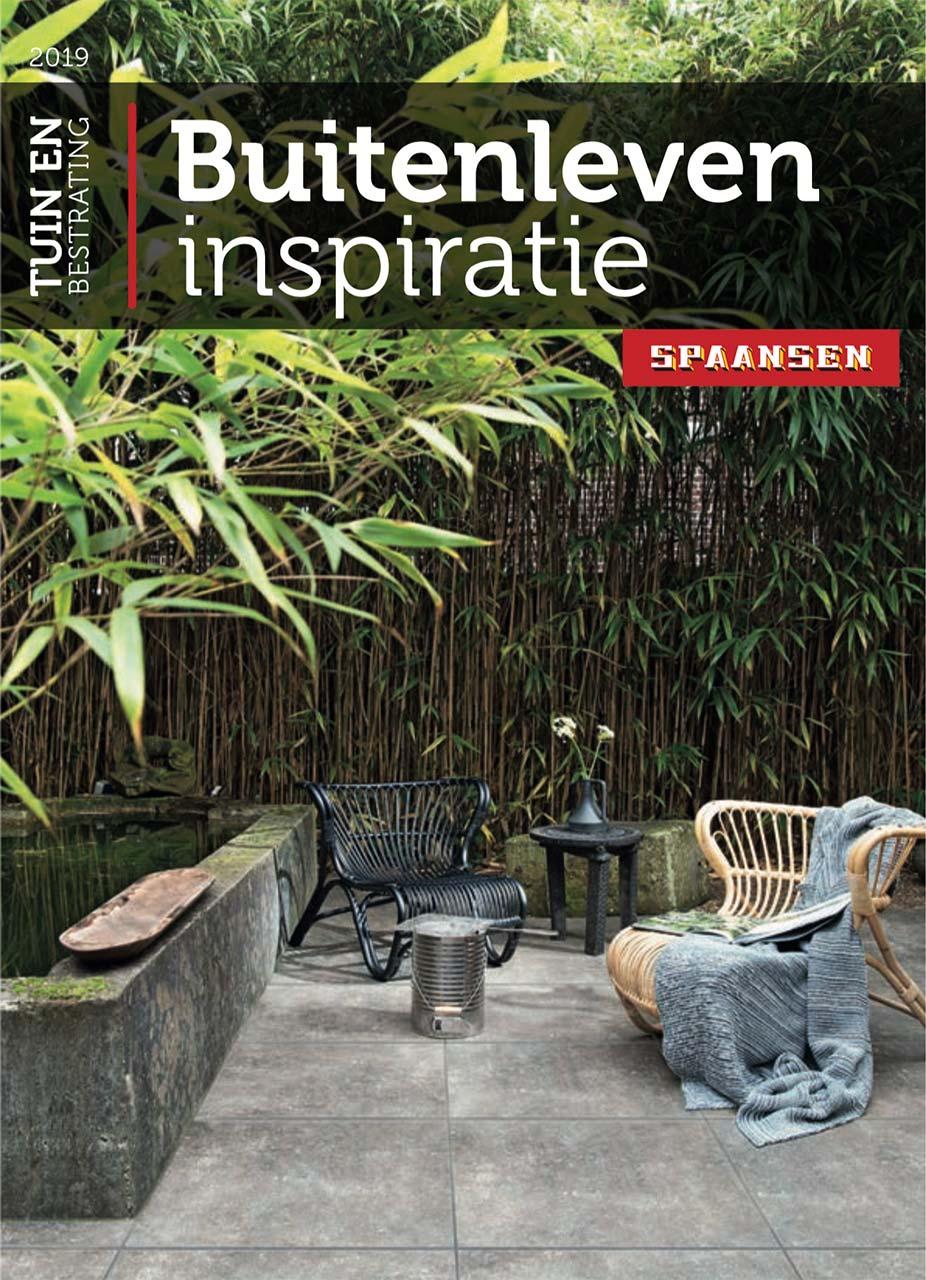Spaansen Tuin en Bestrating - Brochure Inspiratie buitenleven-2019