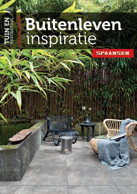 Buitenleven inspiratie Tuin en Bestrating Brochure