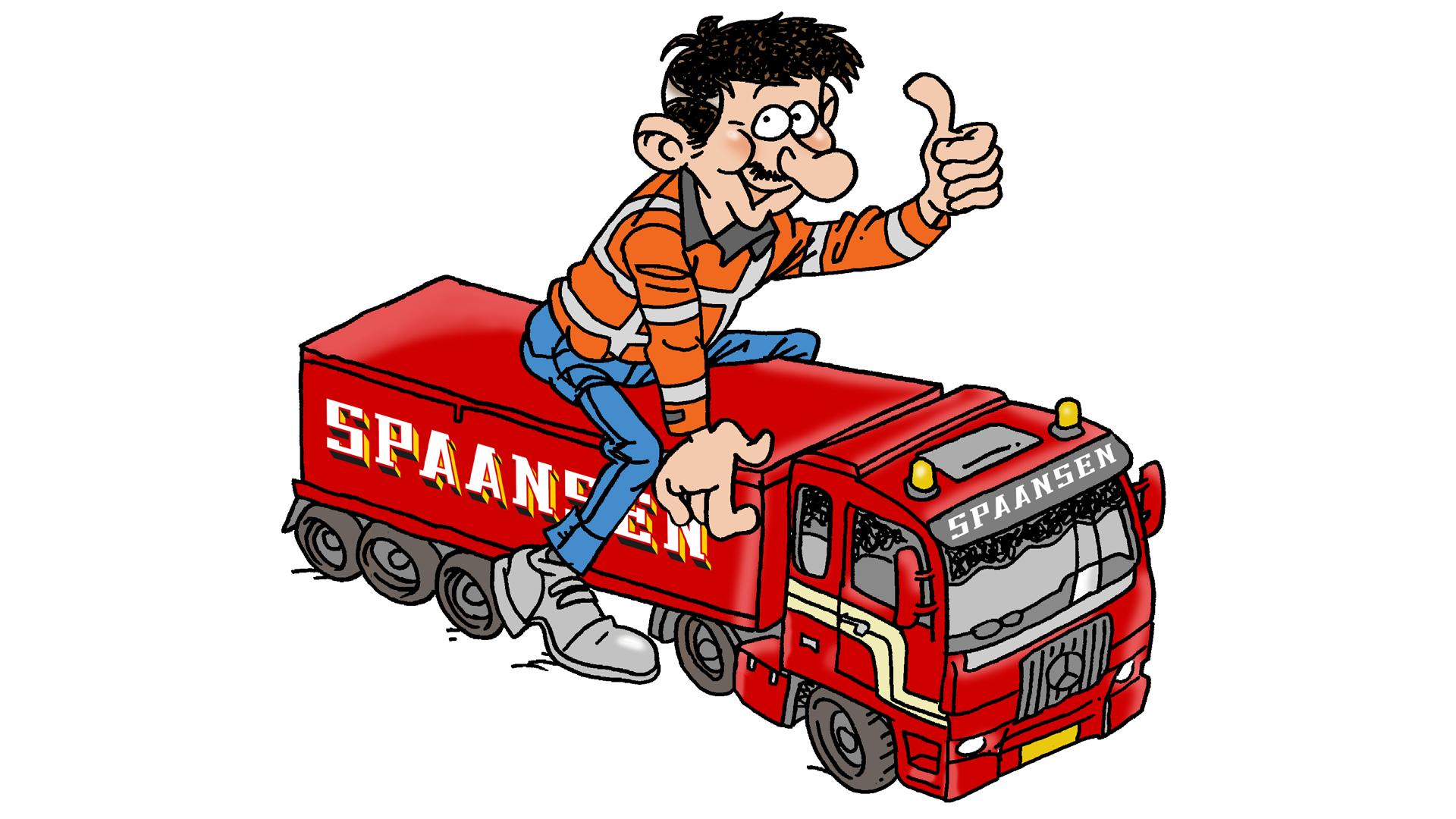 Vacature, Chauffeur, Winkel, Spaansen Grondstoffen en Logistiek B.V.